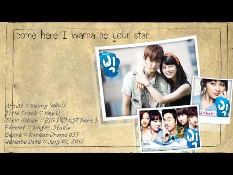 [Karaoke TH] Venny (베니) - Hey U (빅) BIG OST. Part.5 (Thai Sub)