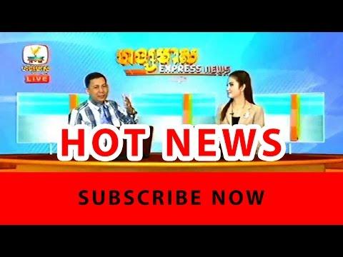 Khmer News, Hang Meas HDTV News, 26 January 2017