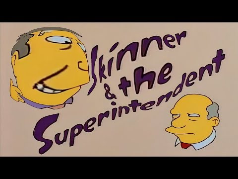 Steamed Hams but every time Skinner lies his head gets bigger & the pitch gets more distorted