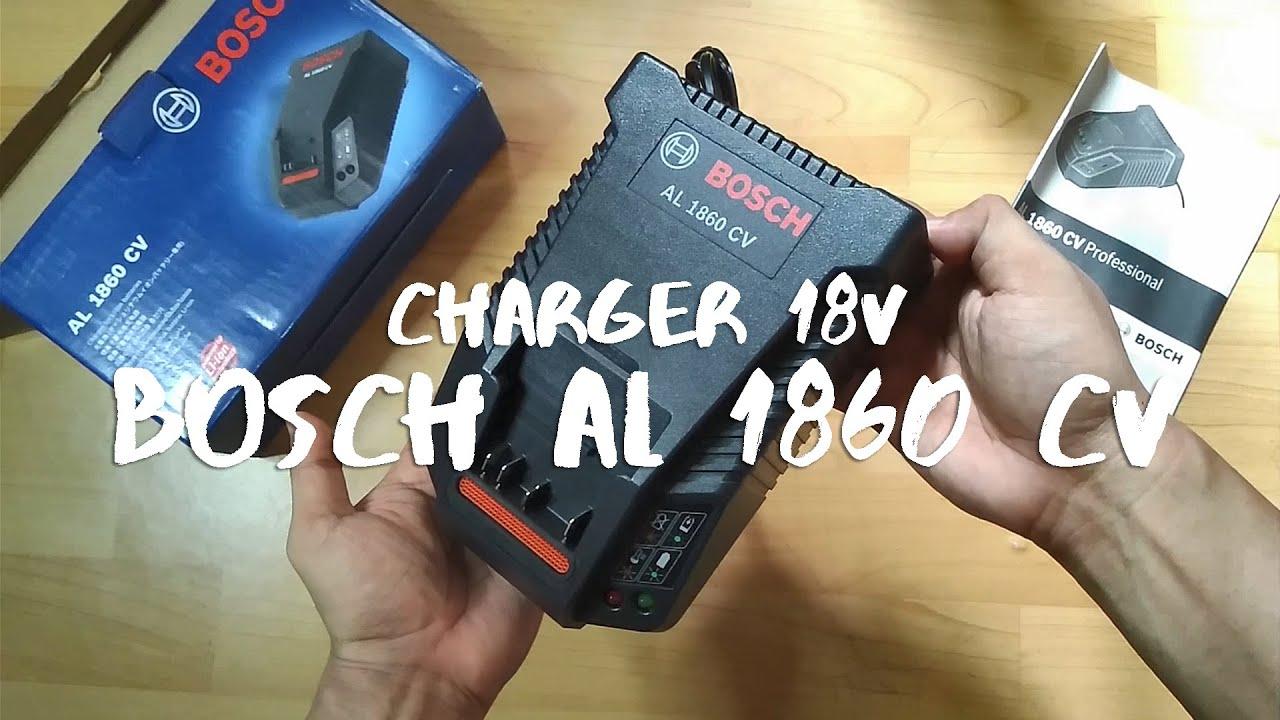 Bosch Charger 18v Al 1860 Cv Al1860cv Youtube