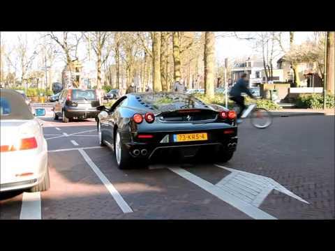 Ferrari 458 and F430 are CRAZY in Laren!