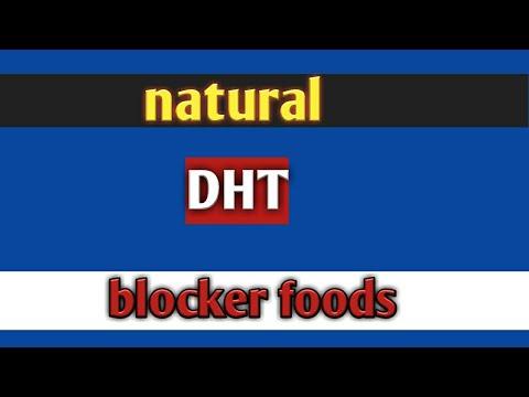 Natural DHT blocker hair loss treatment stop hair fall