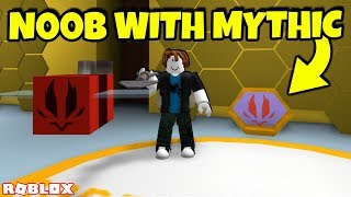 Noob with Mythical Bee in Bee Swarm Simulator...  (Roblox)