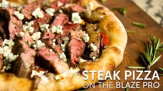 Steak Pizza Recipe on the Blaze Professional Gas Grill | BBQGuys.com