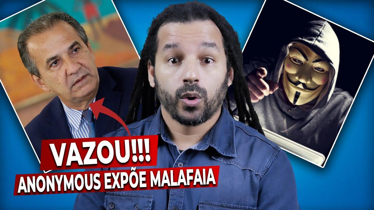 A CASA CAIU: O grupo ANONYMOUS divulga supostas provas contra SILAS MALAFAIA - ''5 MIL DEP