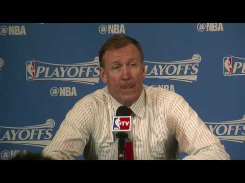 Watch: Terry Stotts calls Stephen Curry's return 'one hell of a performance'