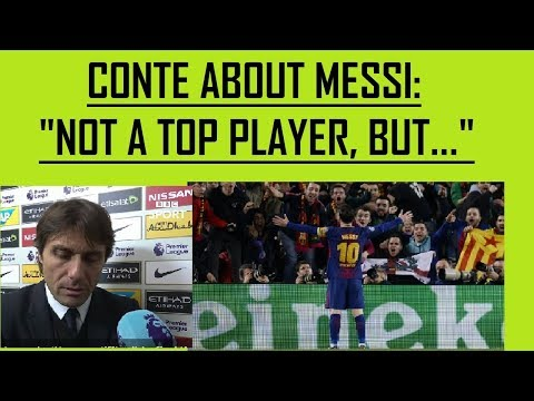 CONTE about MESSI: