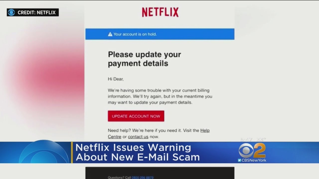 Netflix Email Scam Targeting Customers