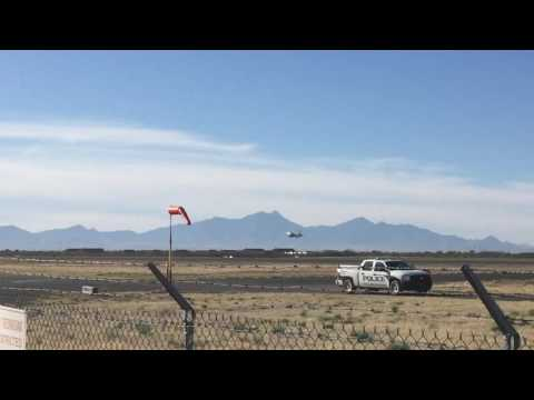USAF F16 scramble Tucson Arizona Air Guard