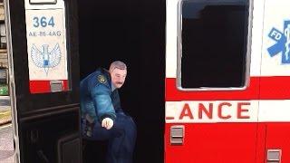 GTA 4 - Полиция бастует, драки с копами от первого лица