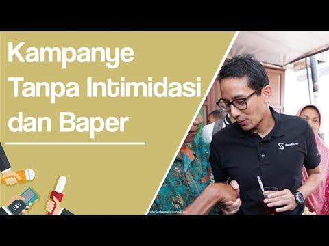 Sandiaga Uno: Kampanye Tidak Perlu Intimidasi, Tidak Usah 'Baper' Mp3
