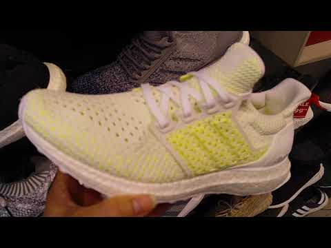 Latest Adidas ULTRABOOST CLIMA Shoes Black or White! 6 25 18