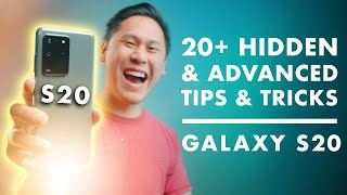 TOP 20+ SAMSUNG GALAXY S20, S20 PLUS & S20 ULTRA Tips, Tricks  Hidden & 'Advanced Features'