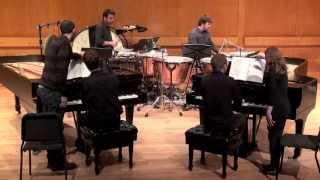 """Sonata for Two Pianos and Percussion"" -Béla Bartók"