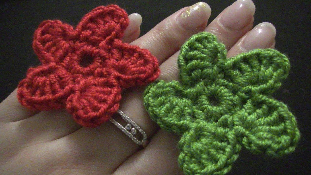 Blume Häkeln Einfach Und Schnell 5 Spiralförmige Blätter Youtube