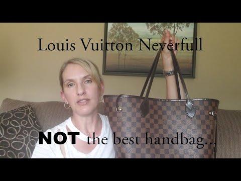 Louis Vuitton Neverfull   NOT the best handbag...