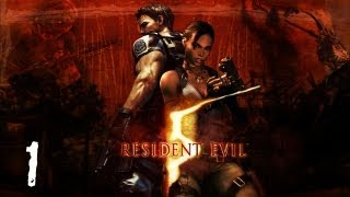 Resident Evil 5 Walkthrough - S-Rank Part 1 - Civilian Checkpoint
