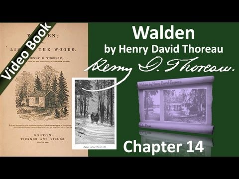 Chapter 14 - Walden by Henry David Thoreau - Former Inhabitants and Winter Visitors