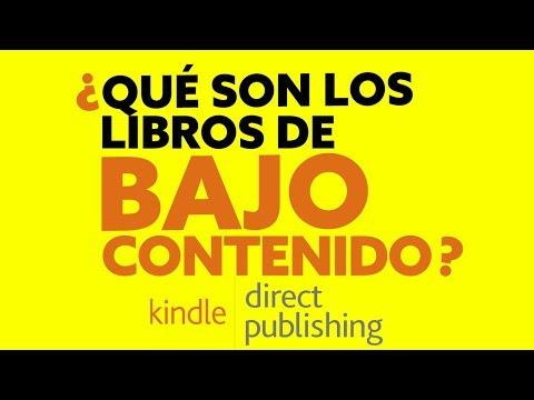 Libros Sin Contenido Y De Bajo Contenido - Publica Tus Libros En Amazon KDP Y Genera Ingresos