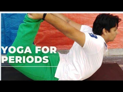 yoga for menstrual pain  youtube