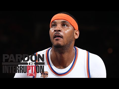 Why Would Carmelo Anthony Want To Stay With Knicks? | Pardon The Interruption | ESPN