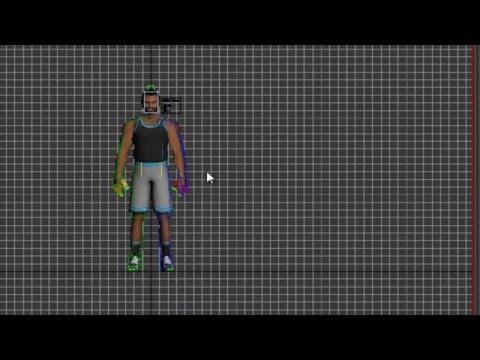 how to animate character animation in 3dmax-03كيفية تحريك شخصية فى برنامج