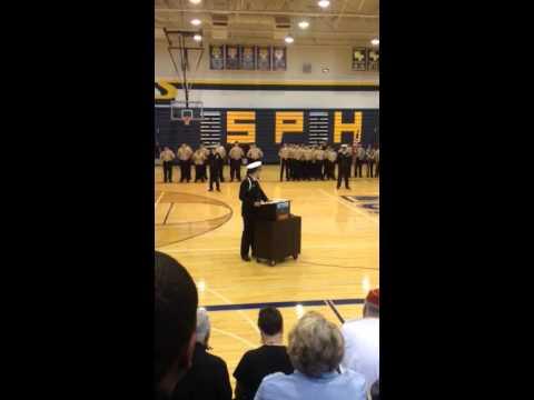 Stony Point High School Njrotc Change Of Command Ceremony Youtube