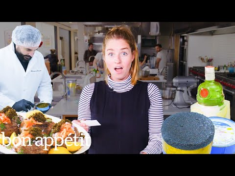 Pro Chef Makes a Meal with $10K+ Caviar | Bon Apptit