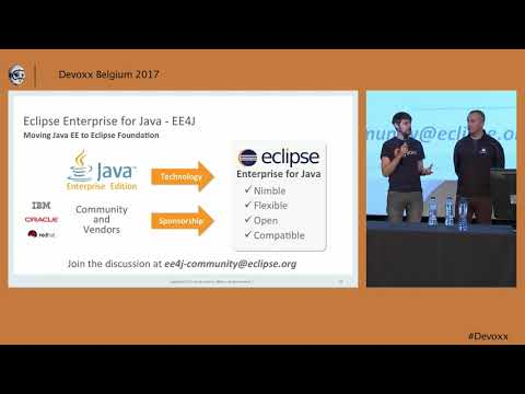 Opening Up Java EE: Panel Discussion with David Delabassee, Ivar Grimstad & friends