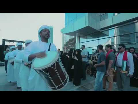 46th UAE National Day celebrations: Dubai Media City.