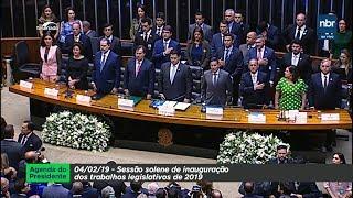 Sessão Solene de Abertura dos Trabalhos Legislativos de 2019