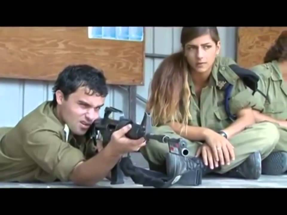 Israeli Army Israel Defense Forces Female Soldiers -9789