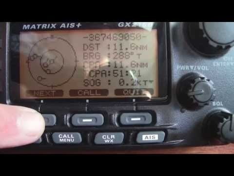 Installing VHF with AIS to GPS/Chart Plotter Standard Horizon