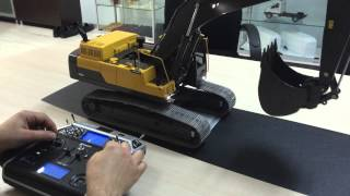 VOLVO EC480D & Graupner MC-20 HOTT