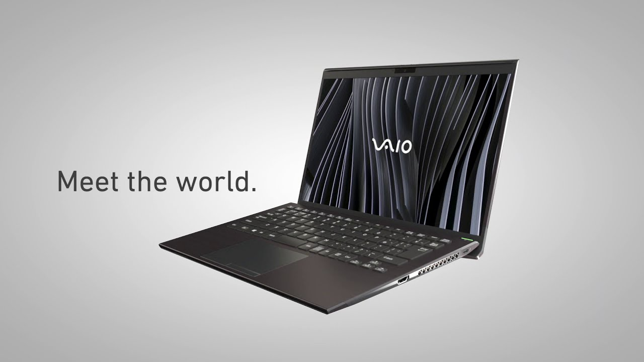 VAIO Debuts the World's First 3D-Molded Carbon Fiber Laptop