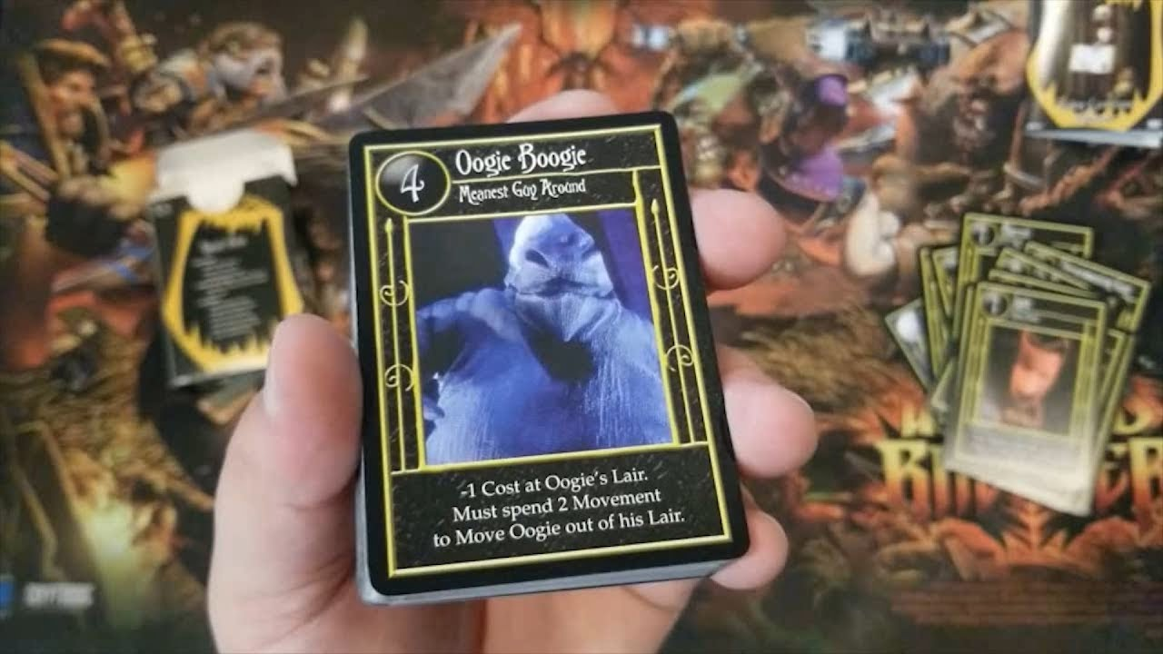 Box Opening: The Nightmare Before Christmas TCG - Oogie Boogie ...