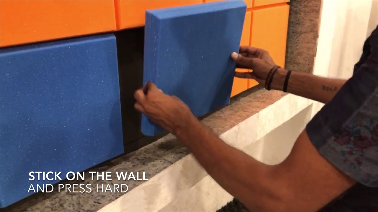 MMT Acoustix® - How to apply acoustic panels on the wall