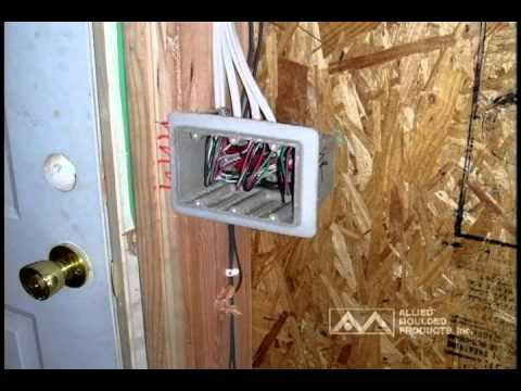 Air Seal Electric Boxes Installed In Energy Star Homes