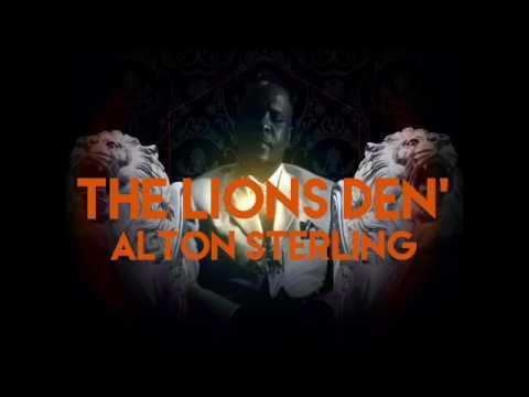 THE LIONS DEN' with PIMPIN KEN - Alton Sterling