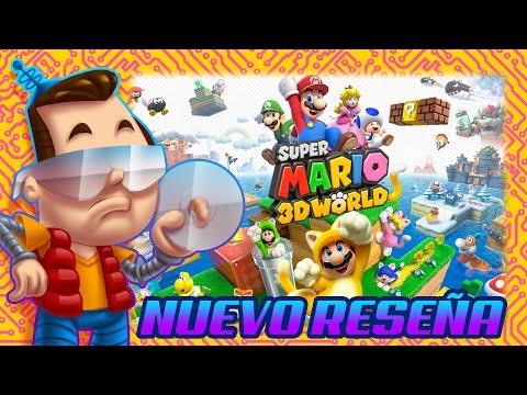 Super Mario 3D World - Nuevo Reseña