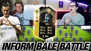 FIFA 18: Heftiges STRIKER INFORM BALE 90 Squad Builder Battle
