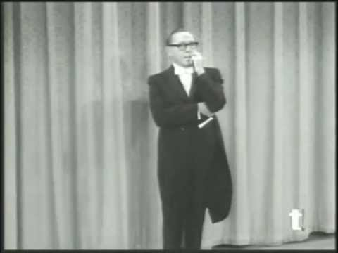 Arte Johnson Shows Jack Benny How To Tell Joke