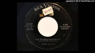 Johnnie And Jack - Stop The World (And Let Me Off) (RCA Victor 7137)