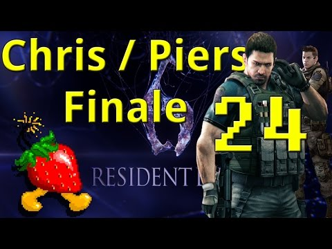 Resident Evil 6 Part 24 Chris/Piers Finale | BoomBerry Plays