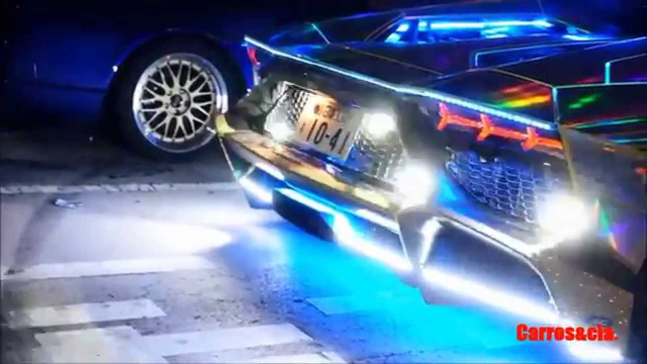 Lamborghini Avantador Flamesthrower Neon Japan Youtube