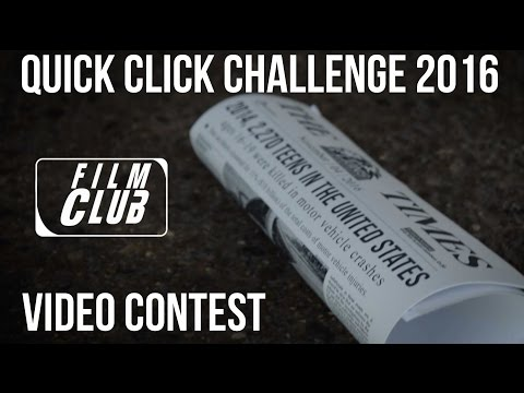 Quick Click Challenge 2016 Video Contest  - Buckle Up - Rock Creek Community Academy #INFDSFL