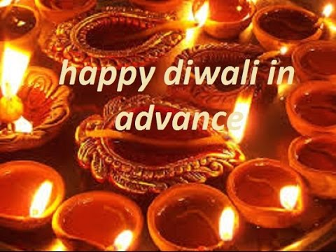 Happy diwali in advance greeting message youtube happy diwali in advance greeting message m4hsunfo