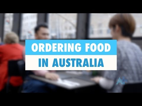Ordering food in Australia - Australia Plus