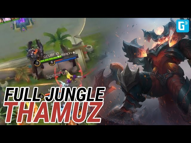JUNGLE SAMPE MENANG BOII - MOBILE LEGENDS STREAM RECAP