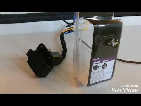 Kurt 57184 4-way to 7-way pin Trailer Adapter Ground